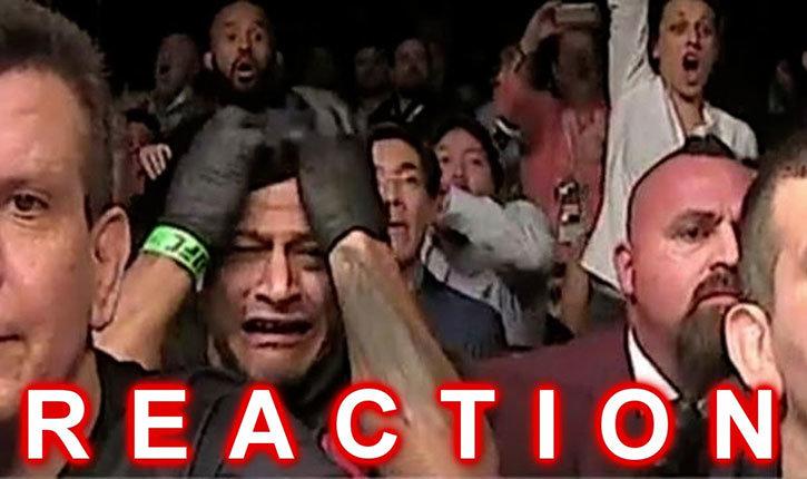 UFC-194 classic reaction compilation.