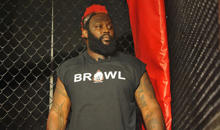 Dada5000 in cage at mma event.