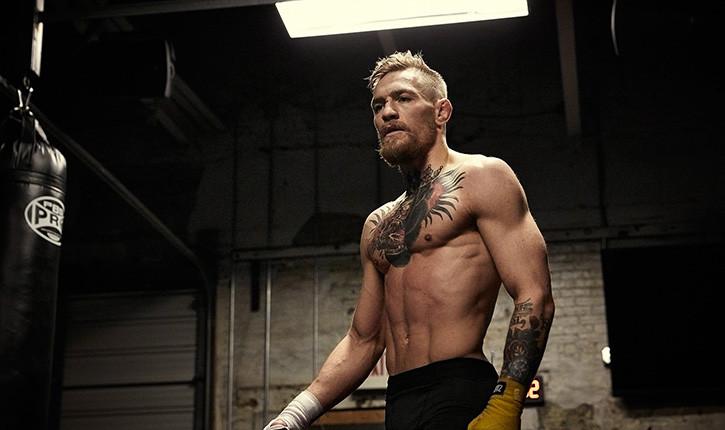 Conor Mcgregor lightweight belt challenge.