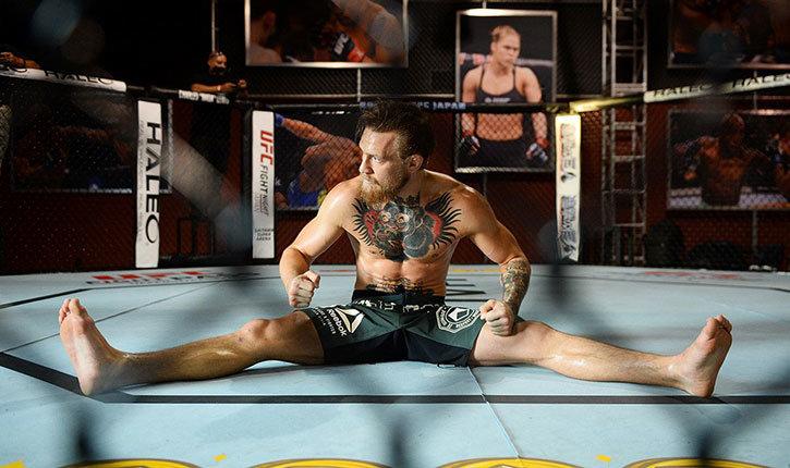 Conor McGregor Movement Training Explained.