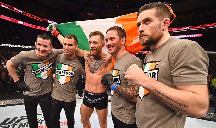 Conor Mcgregor Training Sbg Dublin.