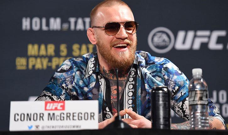 Conor Mcgregor UFC 197 press conference.