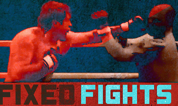 Fixed fights mixed martial arts and boxing montage.