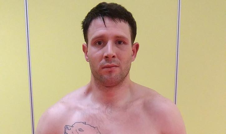Jonathan Reid Irish Amateur In Gym.