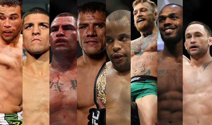 Top 5 UFC fights for 2016.