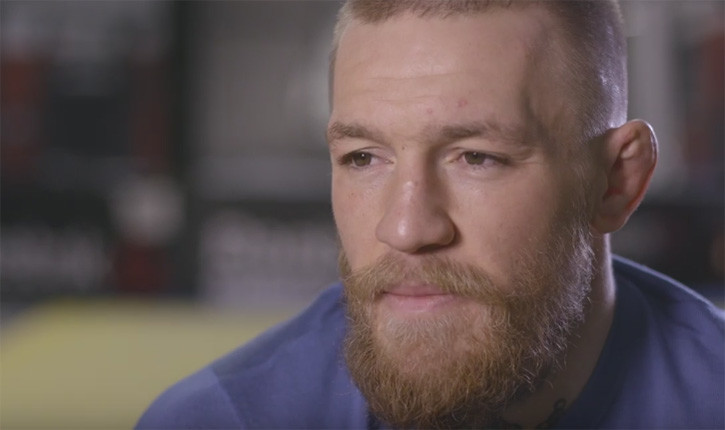 Conor McGregor Unfiltered Sports Illustrated.