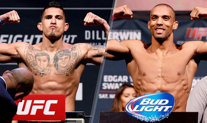 Anthony Pettis meets Edson Barboza UFC 197.