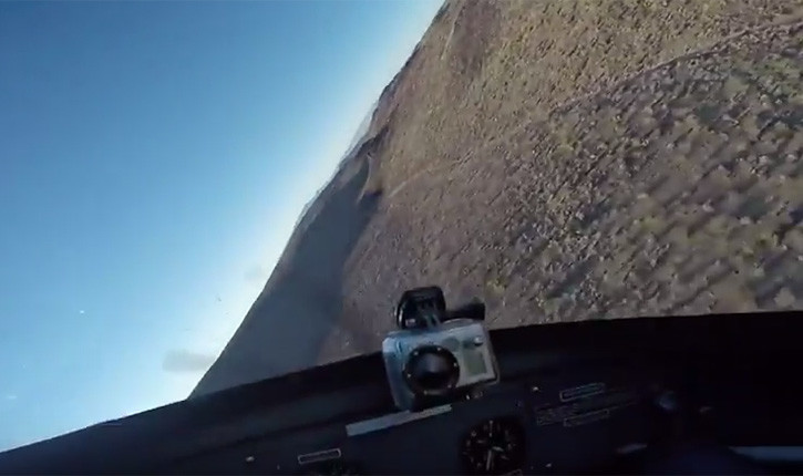 Donald Cowboy Cerrone Flying A Plane On Camera.