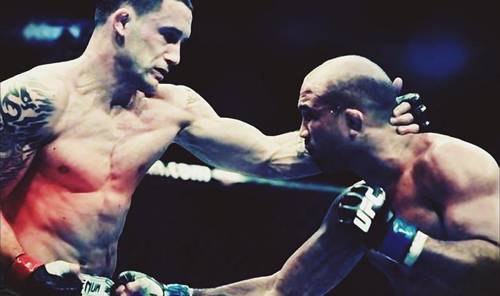 Frankie edgar vs bj penn ufc fight.