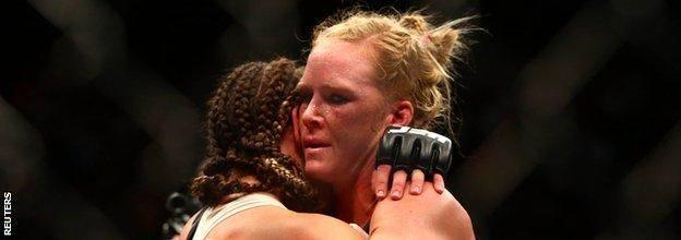 Holly Holm loss to Miesha Tate UFC 196.