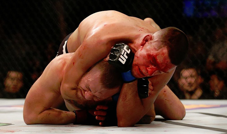 Nate diaz vs conor mcgregor video breakdown.