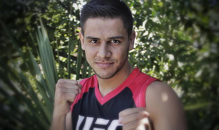 Yair Rodriguez Ufc Welterweight Fighter.