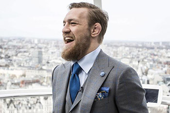 Conor McGregor world tour in London.