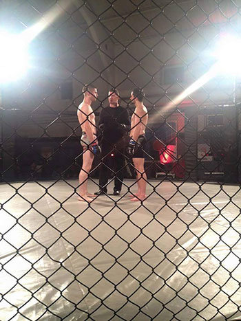 Graham Gerathy Competing In Mma.