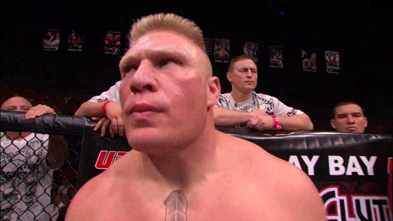Brock Lesnar Faces Frank Mir At Ufc 100.