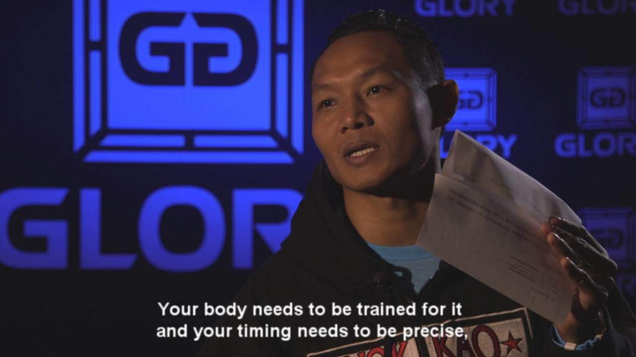 GLORY 31 AMSTERDAM - Saenchai on the art of Muay Thai