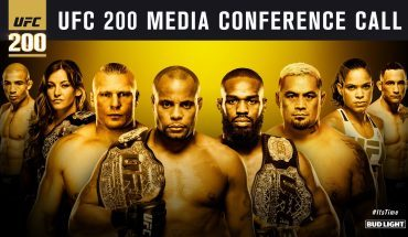 ufc 200 conference call.