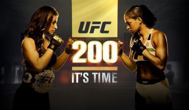UFC 200 Miesha Tate vs Amanda Nunes.