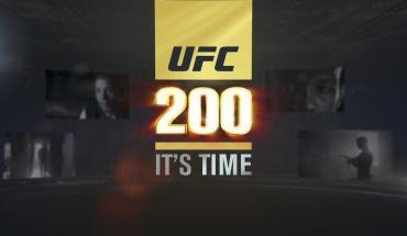 UFC 200 it's time full show!