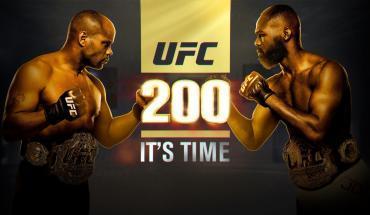 UFC 200 Daniel Cormier vs Jon Jones.