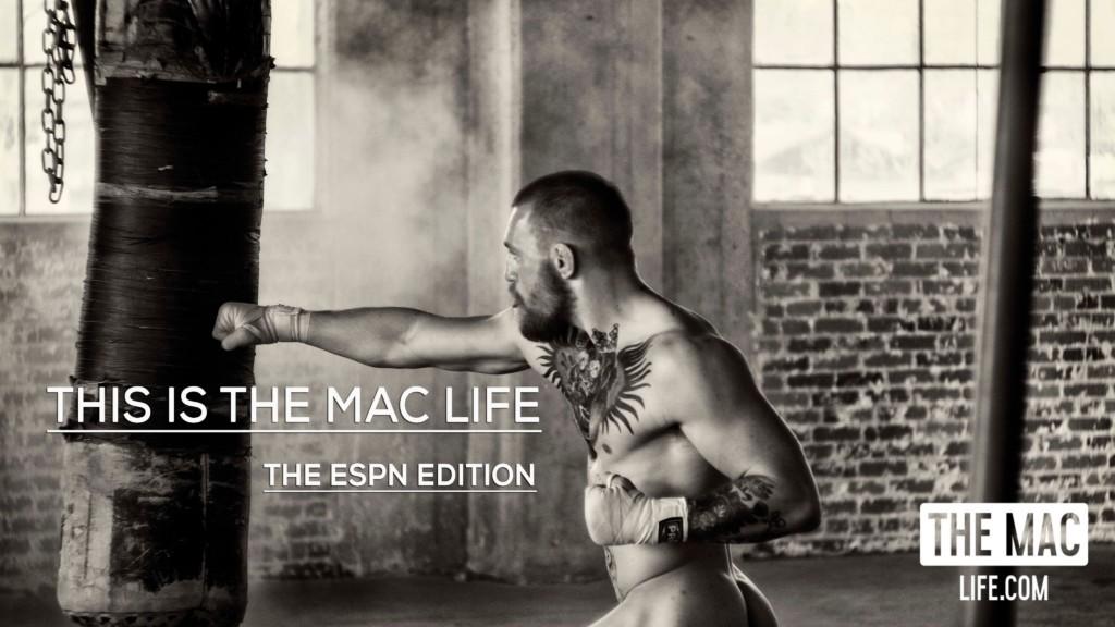 Conor Mcgregor The Mac Life Espn Naked Photo Shoot.