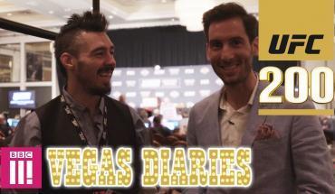 UFC 200 Vegas Diaries with Dan Hardy.