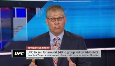 dan white ufc president on sale of UFC.