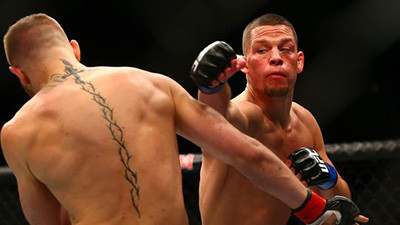 Nate Diaz vs Conor McGregor UFC 196.