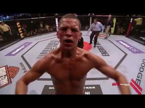 UFC 202: The Exchange with wleterweight fighter Nate Diaz.