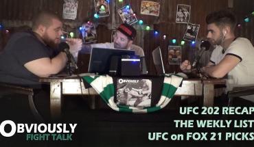 OFT #32 - UFC 202 Recap, Top 5 Non-Title Main Events, UFC on FOX 21 Preview