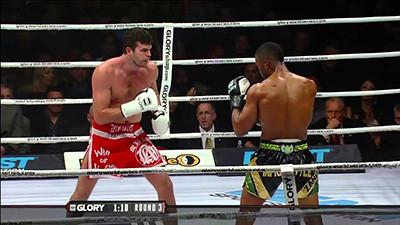 Artem Levin versus simon marcus Glory 21.