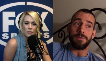 Cm punk's Fox Sports interview before UFC 203.