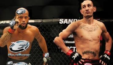 Max Holloway Gets in a scrap with Demetrious Johnson Pt 1