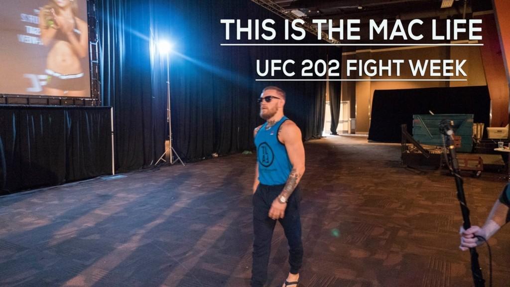 Conor McGregor UFC 202 Exclusive behind the scenes footage.