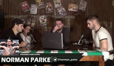 """UFC lightweight """"Stormin"""" Norman Parke interview."""