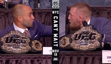 Conor mcgregor vs Eddie alvarez UFC 205 press conference.