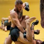 Conor McGregor sparring with Dillon Danis.