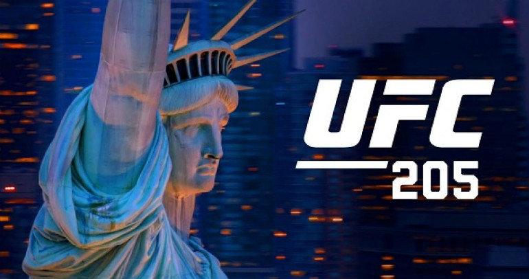 UFC 205 MSG NYC historic.