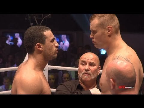 Badr Hari vs Semmy Schilt GLORY Collision fight.