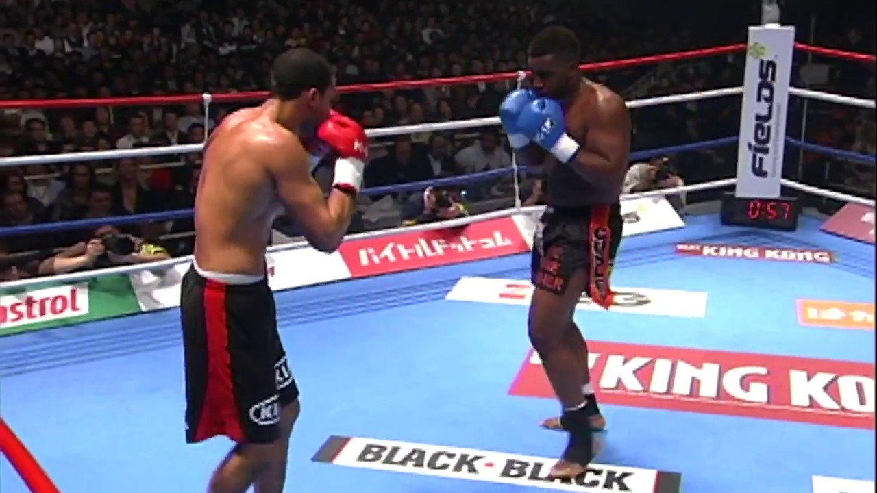 Badr Hari vs Errol Zimmerman k1 2008 final.