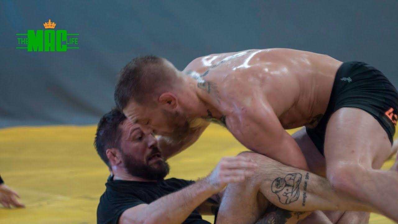 Conor McGregor grappling.