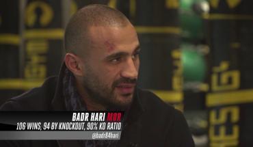 Badr Hari exclusieve Todd Grisham interview.