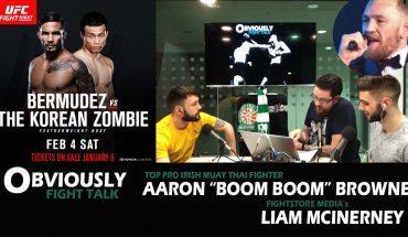 Aaron Browne in Studio, McGregor's PPV Q&A, UFC FN 104 Preview, Frampton/Santa Cruz.