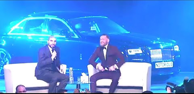 Conor McGregor experience full interview with Ariel Helwani.