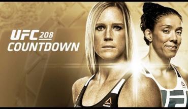 UFC 208. Former UFC champion Holly Holm & Dutch kickboxer Germaine de Randamie.