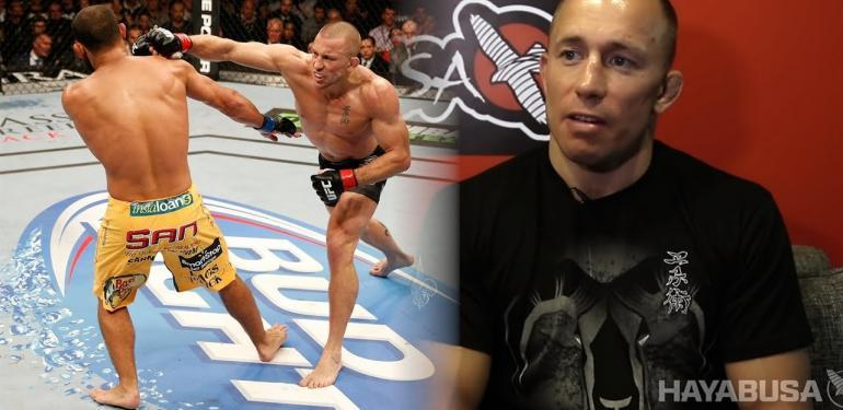GSP returns to competition in UFC.