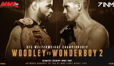 UFC 209 Tyron Woodley vs Stephen Thompson 2.