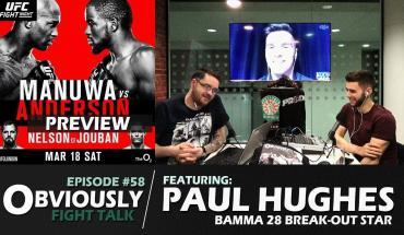 Paul Hughes Interview, UFC London Preview.