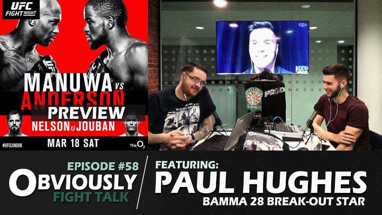 Paul Hughes Interview, UFC London Preview.