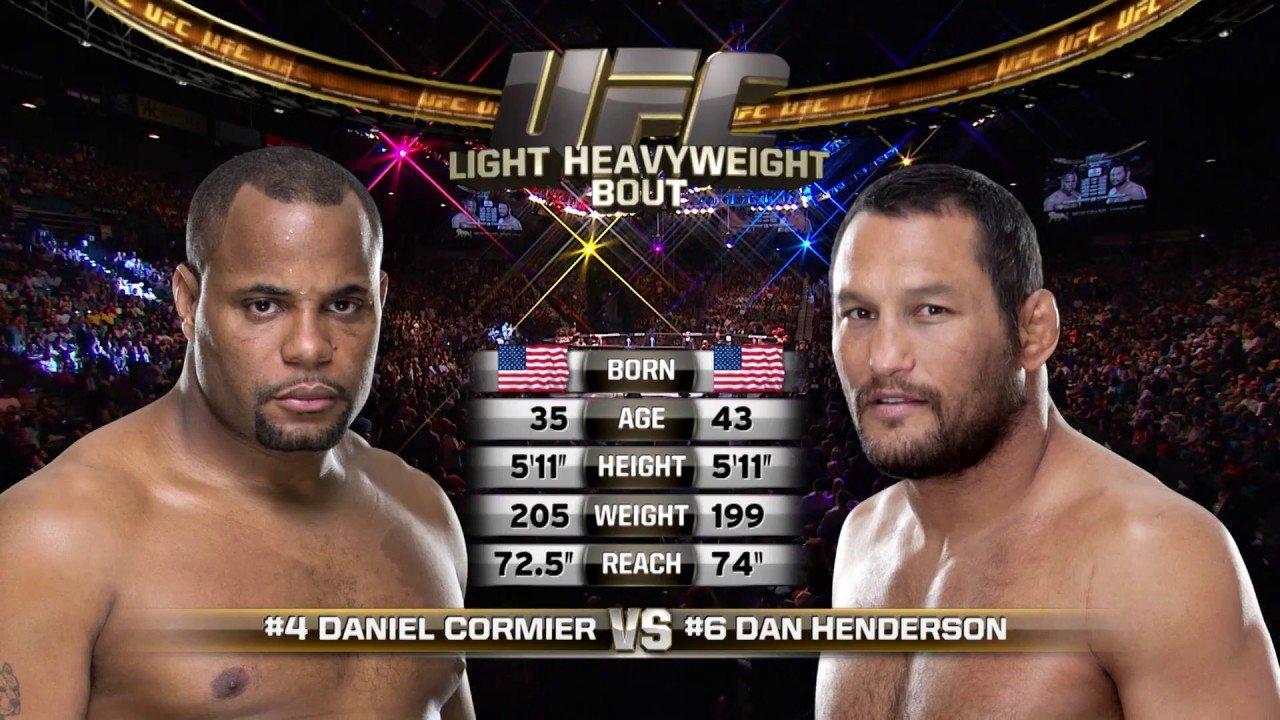 Daniel Cormier Against Dan Henderson Ufc 173.